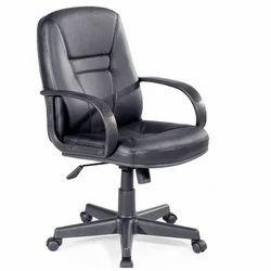 Panchal Black Revolving Chair