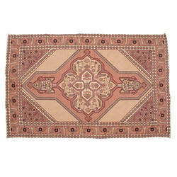 Natural Fibres Export Cotton Vintage Printed Embroidered Rug