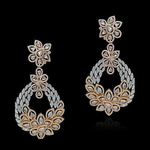 e130cff0b Designer Diamond Earring at Rs 100000 /piece | Ladies Earring ...