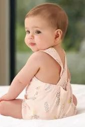 Party Wear Printed Baby Cotton Dress