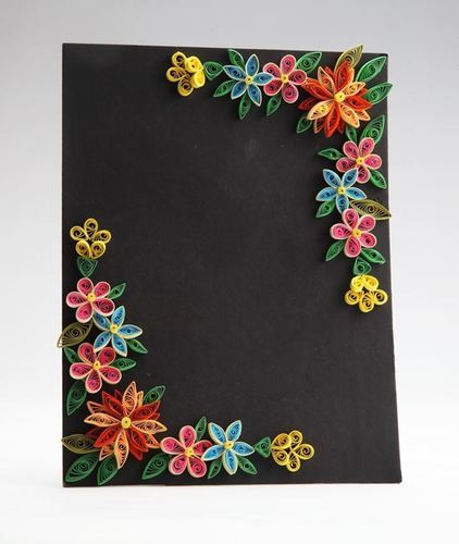 Outstanding Multicolor Paper Quilling Frames Greeting Cards And Wall Hangings Personalised Birthday Cards Cominlily Jamesorg