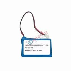 3.7V 800mAH Li Polymer Lithium Ion / Li-ion Battery 8AH