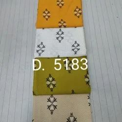 45 Inch D5183 Printed Fabric, Gsm: 100