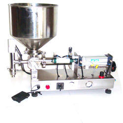 Semi Tube Pest Filling Machine
