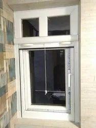 White Modern Casement Window for Toilet, Size/Dimension: 2 * 3