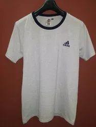 Unisex Half Sleeve Plain Cotton T Shirt, Quantity Per Pack: Optional