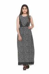 5E7A3470 Laced Black Maxi Dress