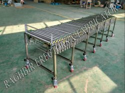 Collapsible Power Free Roller Conveyor