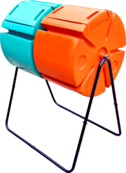 Rotary Twin Drum Composter