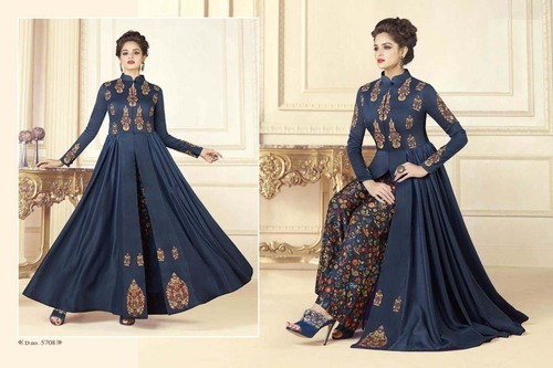 33aca9f40e Stitched Designer New Style Party Wear Gown Kurti, Rs 1540 /piece ...