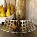 Aluminium Nickle Plated Metal Platter