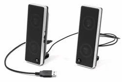 Black Logitech Speaker