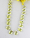 Lemon Topaz Pear Smooth Briolette Beads