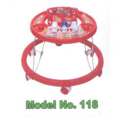 6 Wheels Baby Walker