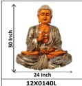 Buddha Polyresin Statue With Bowl
