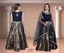 Black Designer Festival Lehenga for Ladies