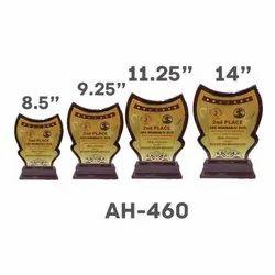 AH - 460 Wooden Trophy