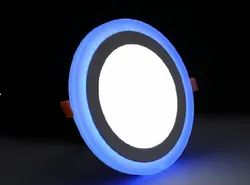 Round LED Dual Color Surface Panel Light