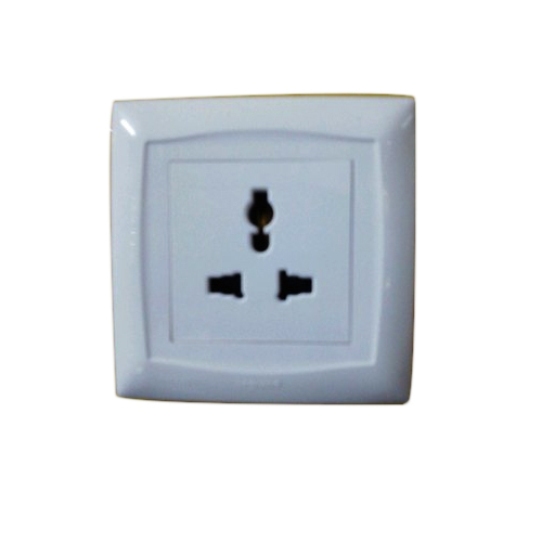 ABS Wall Switched Socket
