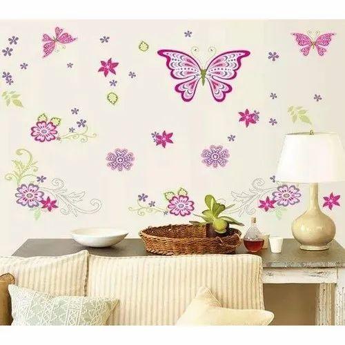 Pvc Sticker Sheet Modern Wall Stickers For Kids Bedroom Rs 100 Piece Id 21413861730