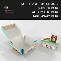 Automatic Lock Burger Box