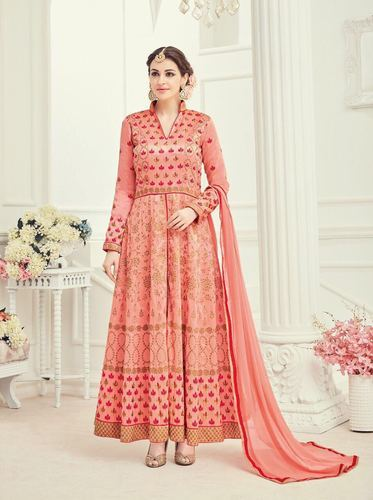 4823925138 Silk Party Wear, Wedding Wear Designer Punjabi Suit, Rs 2195 /piece ...