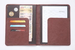 Brown Leather Certificate Holder