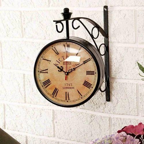 Iron Antique Wall Clocks Rs 399 Piece Daksh Enterprises