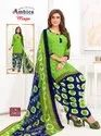 Keshvi Fashion Unstiched Crepe Printed Dress Material