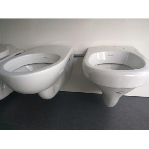 Hanging Commode: White Ceramic Wall Hanging Toilet, Rs 1150 /piece