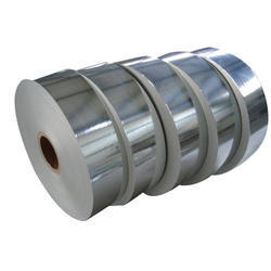 Plain Silver Laminated Paper Roll, Single Side