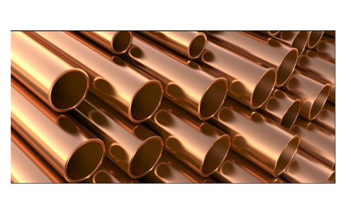 Round Copper Nickel 90 10 Pipes