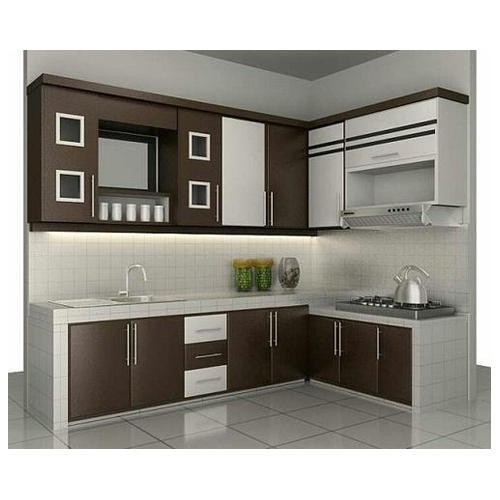 New White Cream Kitchen Cupboard Rs, Cream Kitchen Cupboards White Tiles