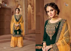 Shehnai Bridal Collection Vol 21-Shree Fab Heavy Designer Sharara Suits