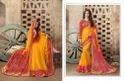 Bridal wear KVS Fab Bandhej Vol - 08 Saree, 5.2 m (separate blouse piece)