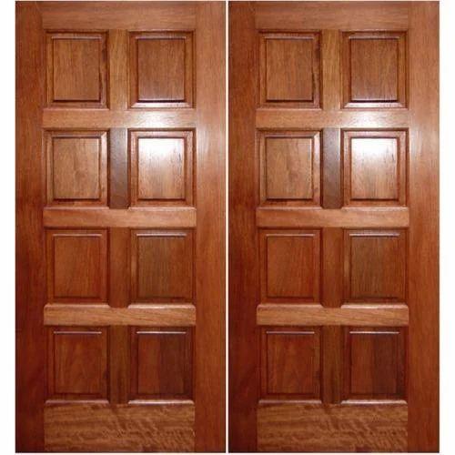Wooden Panel Door & Wooden Panel Door at Rs 550 /square feet | Wooden Door - Pawan ...