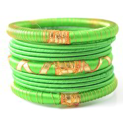 Indian Handcraft Silk Thread Bangle