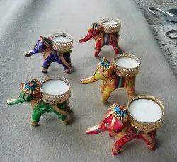 Elephant Tea Light Candle Holder