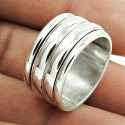Exclusive Oxidized 925 Sterling Silver Ring
