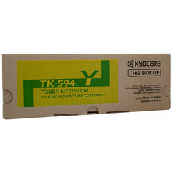 Kyocera TK-594 Yellow Toner Kit Set