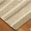 Rectangular Textured Rugs