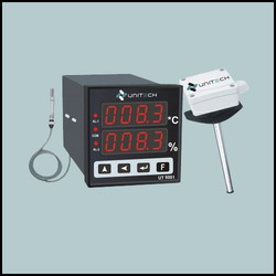 Temperature And Humidity Indicator Controller with Temperature & Humidity Sensor