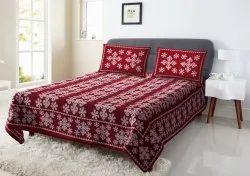 Designer Cotton Printed Bed Sheet