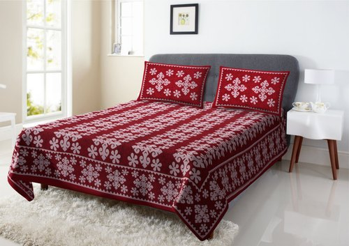 Designer Cotton Printed Bed Sheet