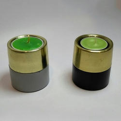 Green Tea Light Candle