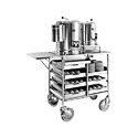 Goyal Ss Tea Snacks Trolley