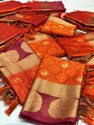 Kora Silk Weaving Saree