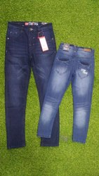 Blue Boys Stretchable Jeans