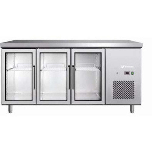 Stainless Steel And Metal 2 Star And 4 Star Glass Door Undercounter