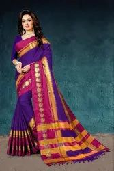 Rich Cotton Silk Saree